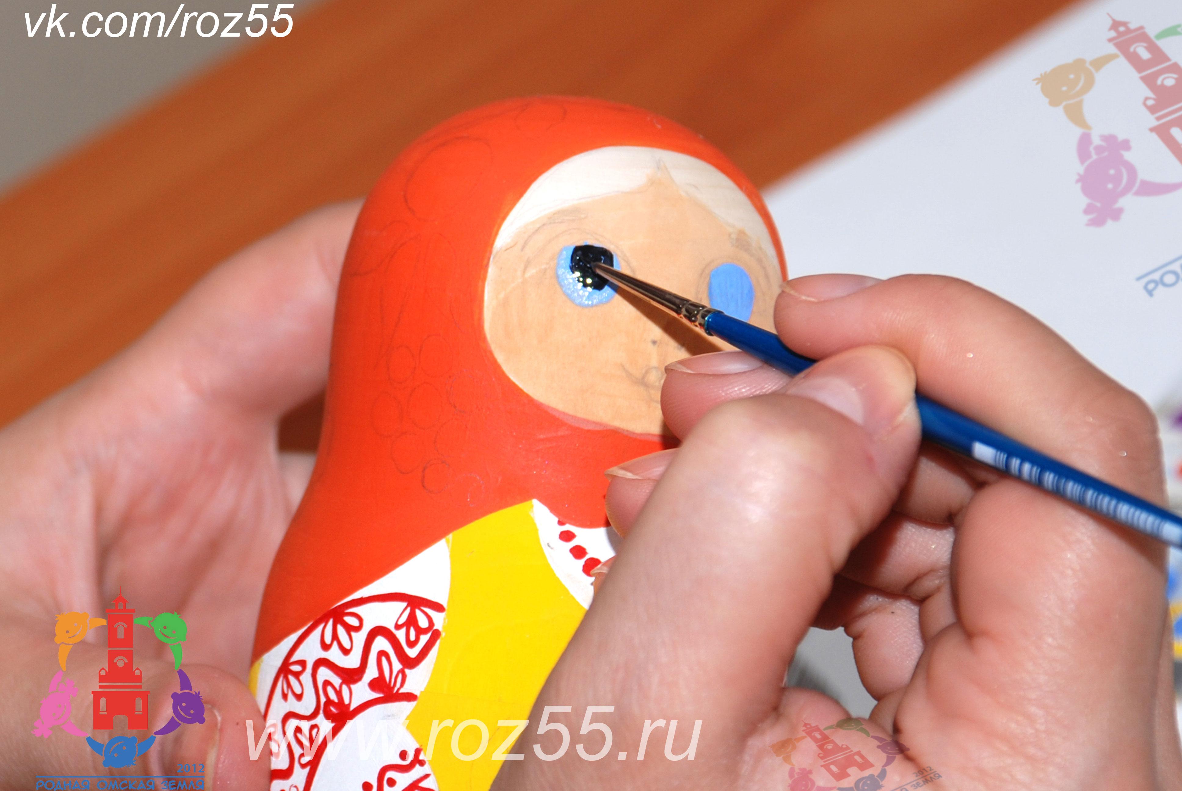 Мастер класс изготовление матрешки